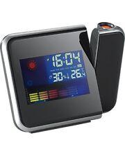 Réveil à projection avec thermomètre et hygromètre - Infactory