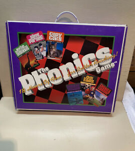 The Phonics Game-18 Hours Of Fun For Better Reading VHS/Cassettes Learning Game