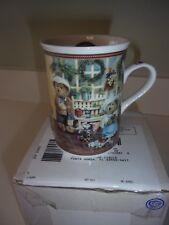 Danbury Mint Boyds Bear Bears 'n' Blooms Coffee Cup Mug Nib