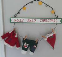 Vintage christmas decorations used