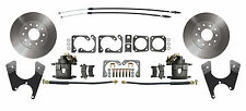 Rear Disc Brake Conversion Kit for Standard GM 10 /12 Bolt Rear End, Std Rotors