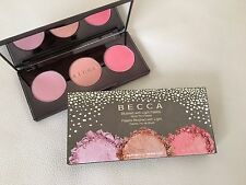 BECCA Blushed With Light Palette - Blush Trio Wisteria/Songbird & Snapdragon NEW