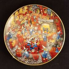 Franklin Mint Plate By Bill Bell Limited Edition Numbered Food Fight 8""