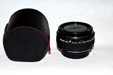 Albinar-ADG Auto 2X Tele Conv.  Lens for Minolta M/MD w Caps (LN-29)