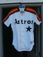 Authentic Houston Astros Rawlings Baseball Jersey Sz 42 W/tags new old stock