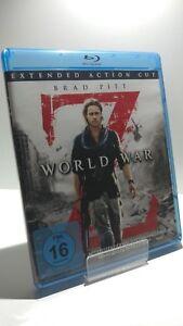 WORLD WAR Z / Extended Action Cut / Blu-ray / Brad Pitt / KULT