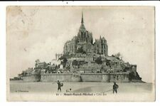 CPA-Carte Postale-France Le Mont Saint Michel-Côté est -VM13669
