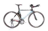 2012 Felt B16W Carbon TT / Triathlon Bike 2 x 10 Speed Ultegra M / 52 cm