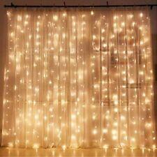 Luces LED Para Cortinas Decoración Ambiental Para Navidad Matrimonios Jardín