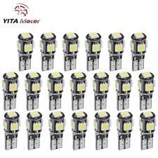 YITAMOTOR Pure White Canbus Error Free T10 LED License Light Bulb W5W 194 20PCS