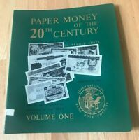Paper Money of the 20th Century by Arnold Keller - Volume 1 - Printed 1973