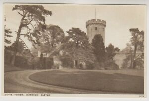 Warwickshire postcard - Guy's Tower, Warwick Castle (A343)