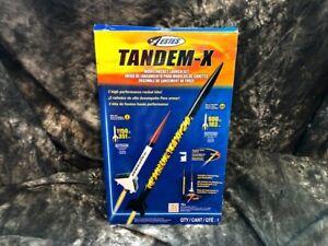 Estes Tandem-X Model Rocket Launch Set #1469 - New Old Stock