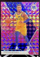Donovan Mitchell 2019-20 Mosaic Basketball Pink Camo Prizm #13 Jazz