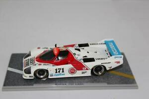Spark 1/43 Mazda 757 #171 24h Le Mans 1986 - Rotary Le Mans History