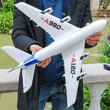 Remote Control Plane Geoair High Flyin White Airplane Airport jet Airbus wing