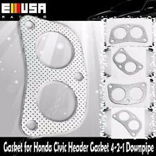 Header Gasket  fits 88-00 Honda Civic Header 4-2-1 Downpipe