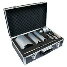 Mexco DCX90 9 Piece Dust Extraction Dry Diamond Core Drill Bit Kit Set Vent