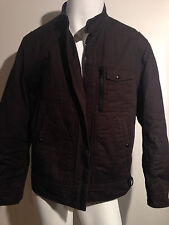 Men Boss Hugo Boss Brown Jacket Thermore Rinnova (44R)!! Preowned !!! RC
