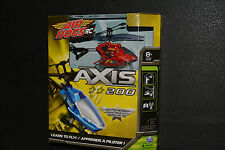 AIR HOGS RC AXIS 200 HELICOPTER Learn to Fly Indoor Use RED *New in Box*