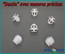Lot 10 Clips Agrafe plastique panneau de porte PEUGEOT 206 6991.E8