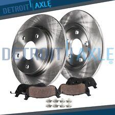 REAR. Brake Rotors + Brake Pads Nissan Altima Sentra Disc Rotor Pad Brakes Kit
