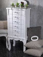 Nachtschrank Nachttisch Nachtkonsole Nachtkommode Weiss Barock Landhaus