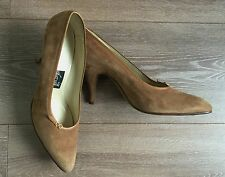 Bollati Scarpe donna decolte marrone 38,5 tacco scarpe usato vintage sexy T884