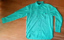 Men's M Under Armour UA Tide Chaser Long Sleeve Activewear Green Button Down