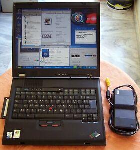 Rare IBM Laptop G-40 Type 2388 Intel-P4 3.0GHz 504MB 60GB Parallel Floppy (x a t