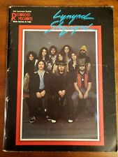 1St Ed Lynyrd Skynyrd Hal Leonard Guitar Recorded Versions Notes & Tabs Songbook
