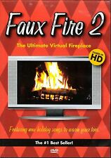 FAUX FIRE 2: THE ULTIMATE VIRTUAL FIREPLACE CHRISTMAS HOLIDAY MUSIC & SOUNDS OOP
