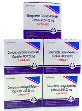 OTC Omeprazole 20mg Acid Reflux Heart Burn Fast Ship 500 capsules DHL Shipping