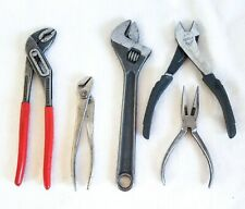 Hand Tools Mixed Lot Vintage And New Pliers Wire Cutter Proto Westcraft