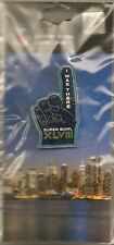 Super Bowl XLVIII I Was There Pin Seattle Seahawks vs Denver Broncos New York