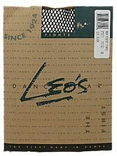 Leo's Dancewear Child's Large L Fishnet Dance Tights Black NEW! FREE SHIPPING!