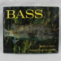 Bass Robert H. Boyle Autographed First Edition Photographs by Elgin Ciampi 1980