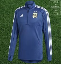 adidas Argentina Training Top Mens - AFA 1/4 Zip - Long Sleeved - All Sizes