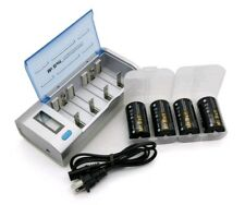 Mr Batt Battery Charger for AA AAA C D 9V Ni-MH Ni-CD Rechargeable Batteries​