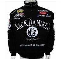 .New Jack Daniels Motorcycle Racing Suit Black Autumn Jacket