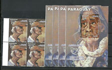 PARAGUAY - UPAEP 2018, 4 COMPLETE SETS, MNH