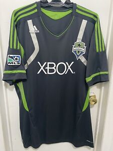 VTG: Seattle Sounders 2011 away adidas MLS Jersey Size: Adult 2XL XX-Large MLS