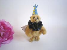 Christine Pike miniature mohair clown bear. OOAK, by Christine Pike Bears. Fab!