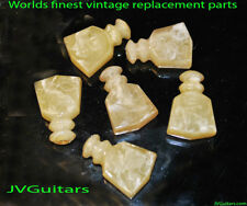 Kluson Tuner Buttons  AGED JVG REBORN OLD  GUITAR PARTS NEW Generation III~