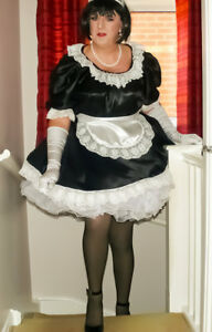 Sissy Maid Uniform - Lockable, Not A Fancy Dress Costume - Hand Made in  the UK