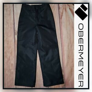 OBERMEYER Youth Small 8 Black Insulated Winter Snow Ski Pants
