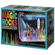 Toysmith Magic Rocks Deluxe Crystal Growing Aquarium Kit (Assorted Styles)