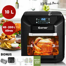 10L Air Fryer Electric All-In-1 Convection Oven LCD Digital Low Fat Health Cook