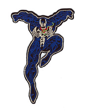 "💥 4"" Spiderman VENOM Villain Logo Iron-on PATCH! Spider-Man Marvel Comic Book!"