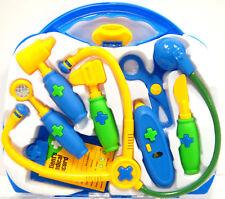 New Doctor Dr Set Kids Medical Case Nurse Kit  Carry Case Great Gift For Kids